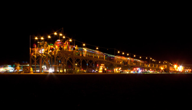 burning man pier